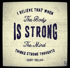 strong bod and mind